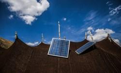 توزیع 400 پنل خورشیدی در بین عشایر بافت