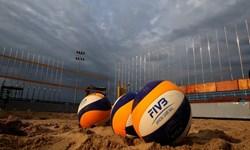 شروع مسابقات والیبال ساحلی کشور در بوشهر