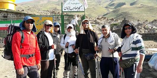 صعود موفقیتآمیز کوهنوردان آبفای قم به بام ایران