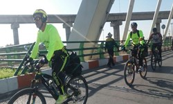 برگزاری تور دوچرخهسواری بسیجیان مازندران