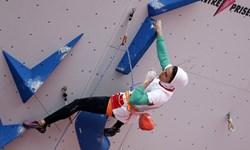 نخستین مدال تاریخ سنگ نوردی بانوان در مسابقات قهرمانی جهان