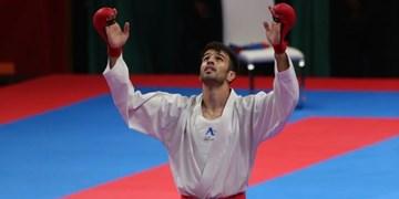 لیگ کاراته وان| درخشش سومین برنز ایران بر گردن عسگری