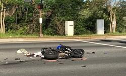 «سیزده به در» پر حادثه برای راکبان موتورسیکلت در خراسان رضوی