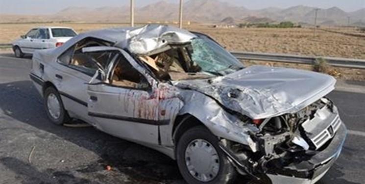 خواب آلودگی مرگبار راننده پژو