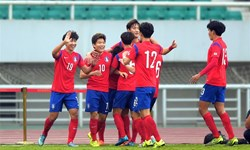پیروزی کره جنوبی مقابل کاستاریکا
