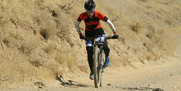 دوچرخهسواری کوهستان امارات| پرتوآذر سوم شد