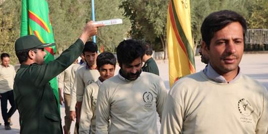 بسیجیان اردکانی به اردوی جهادی اعزام شدند