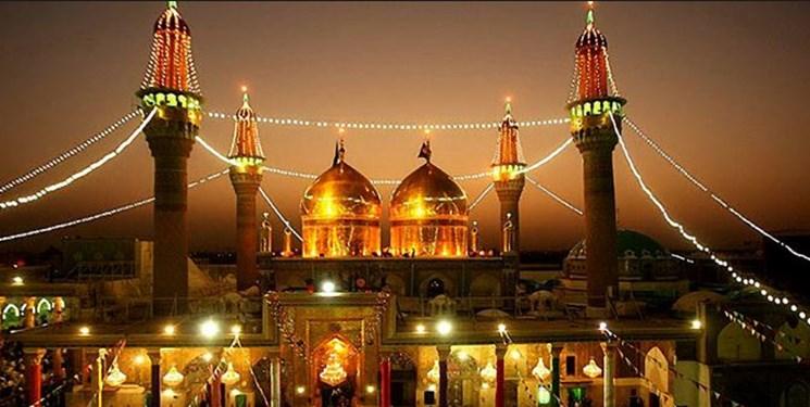 ایرانیان کاشیهای نفیس اطراف ضریح امامین جوادین (ع) را ترمیم میکنند