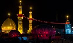 ساخت گنبد جدید حرم امام حسین (ع) به همت خیرین کرمانی