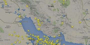هدایت 52 هزار و 119 پرواز عبوری از فضای کشور در 7 ماه/ افزایش استقبال از آسمان ایران