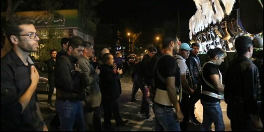 فریادهای لبیک حسینی از خیابانهای باب الرضا