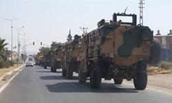 یک کاروان نظامی ترکیهای وارد سوریه شد