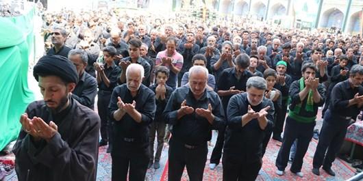 نماز ظهر عاشورا در اردکان اقامه شد