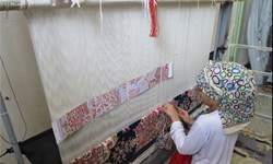 بافت  یک هزار و 461 متر مربع  فرش توسط مددجویان زنجانی