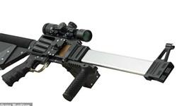تولید اسلحه ای که هر بار چهار گلوله شلیک می کند