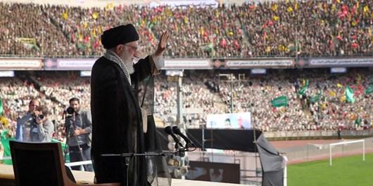 ملت ایران با شکست دادن تحریم سیلی دیگری به آمریکا خواهد زد/جوانان راهحل مشکلات کشورند وتصمیم گرفتهاند ایران عزیز را به اوج افتخار برسانند