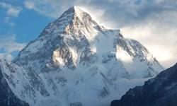 صعود زمستانی دومین قله بلند جهان در دمای 30- درجه و وزش بادهای شدید