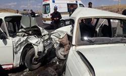 تصادف در جاده بوکان-میاندوآب 5 کشته و زخمی به جای گذاشت