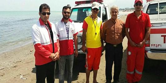 نجات 431 نفر از خطر مرگ حتمی در دریای چالوس