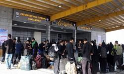 تجمع زائران در مسیر منتهی به مرز شلمچه پایان یافت