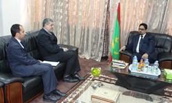 دیدار سفیر ایران با وزیر فرهنگ و سخنگوی دولت موریتانی