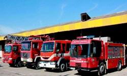 حضور آتشنشانی زنجانی با 75 نیرو در رزمایش پدافند غیرعامل