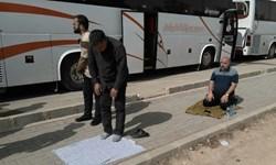 سرگردانی زائران ایرانی در مجاورت مرز مهران