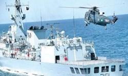 رزمایش نظامی  پاکستان در آبهای اقیانوس هند آغاز شد