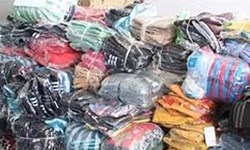کشف 8 هزار ثوب البسه قاچاق در ابهر