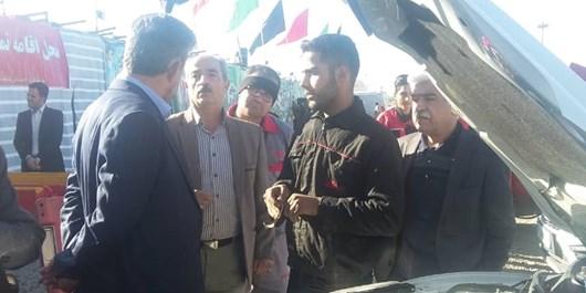 تعمیر رایگان خودروهای زائران حسینی در همدان