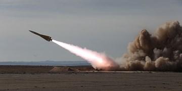 انهدام پهپاد متخاصم در ارتفاع بالا توسط موشک بهینهشده شلمچه