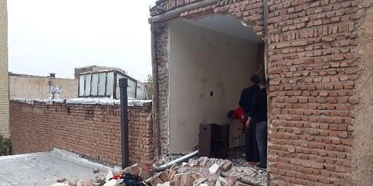 انفجار گاز شهری در تبریز