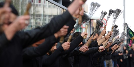 آیین  عزاداری شهادت امام حسن عسکری در شیراز