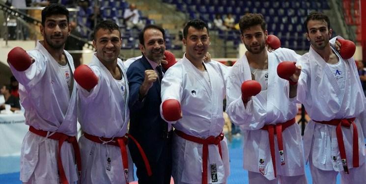 لیگ جهانی کاراته وان| مردان ایران نایب قهرمان کومیته در لیگ جهانی اسپانیا