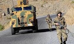 دستکم 2 نظامی ترکیه در حمله افراد ناشناس در شمال سوریه زخمی شدند
