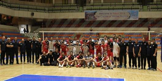 شکست غیرمنتظره تیم والیبال شهرداری تبریز