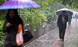 آسمان یزد تا فردا بارانی است