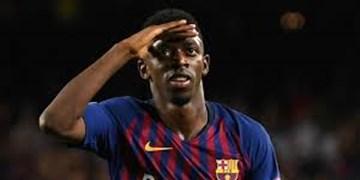 خبر بد برای بارسلونا/دمبله 5 هفته خانه نشین شد