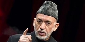 کرزی: آمریکا برای تضعیف اتحاد مردم افغانستان تلاش زیادی کرده است