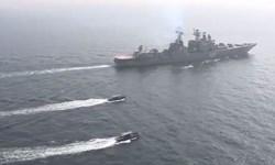 استفاده از ظرفیتهای مشترک دفاعی محور رزمایش دریایی پاکستان و روسیه