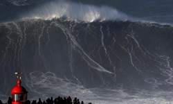 موجسواری روی موج چند ده متری