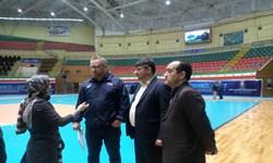 نماینده فدراسیون جهانی والیبال از امکانات اردبیل بازدید کرد