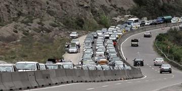 محور هراز یکطرفه میشود/ ترافیک نیمه سنگین در محورهای شرق استان تهران