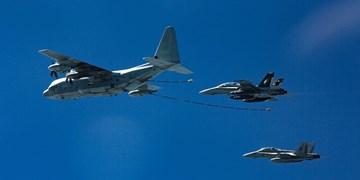 پرواز هواپیماهای آمریکا بر فراز پایتخت عراق و استان بابل