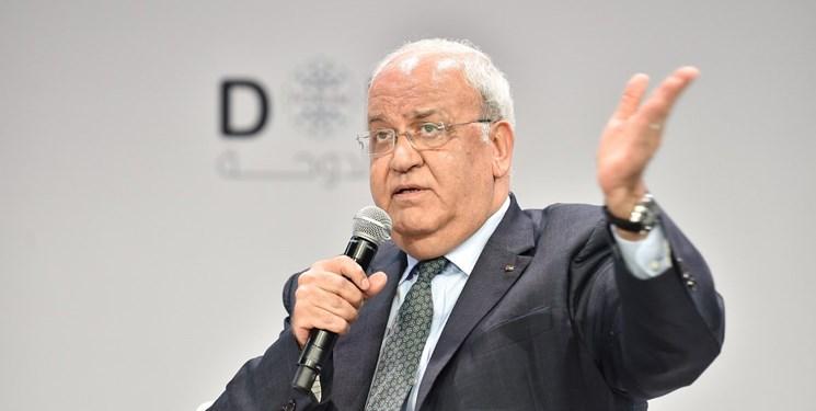 مذاکره کننده ارشد فلسطینی به علت کرونا بستری شد