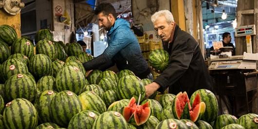 کاهش تقاضا در بازار میوه و ترهبار سمنان+ ریز قیمتها