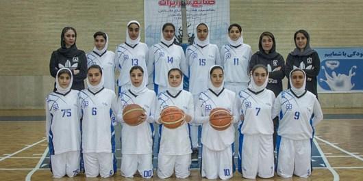 صعود نماینده بانوان تبریز در مسابقات بسکتبال دسته 2 کشور