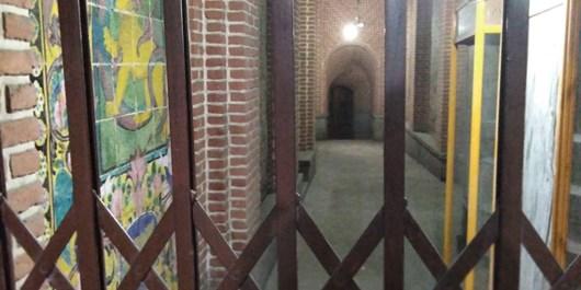 بازگشایی حمام نوبر، در هفتخان حقوقی و اداری