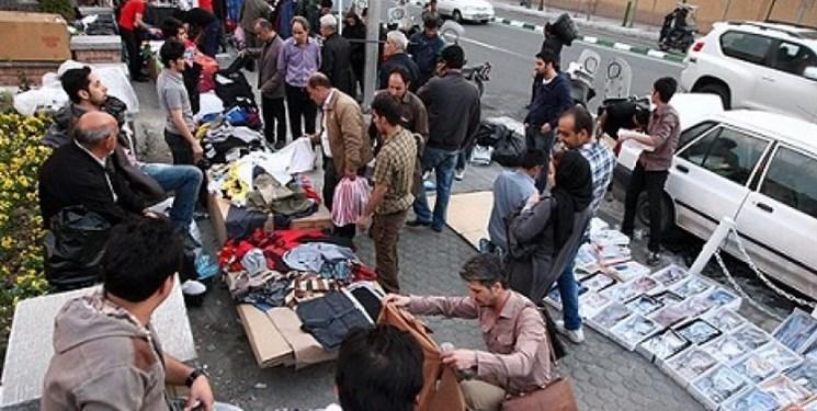 شهرداری کاسبی 900 دستفروش را تخته کرد/کوچ اجباری دستفروشان به 2 شهرک