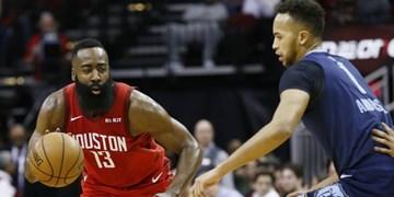 لیگ بسکتبال NBA| هاردن در صدر پرامتیازترین بازیکنان فصل